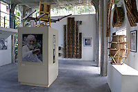 Main gallery in the Edward James Museum  in Xilitla, San Luis Potosi state, Mexico