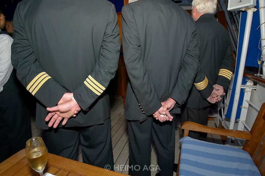 Captain Choinski's Welcome Reception aboard the Sea Cloud.