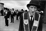Apprentice Boys of Derry parade, Protestant march that antagonized Catholics culminating in the Battle of the Bogside, Londonderry, Northern Ireland, August 12,1969