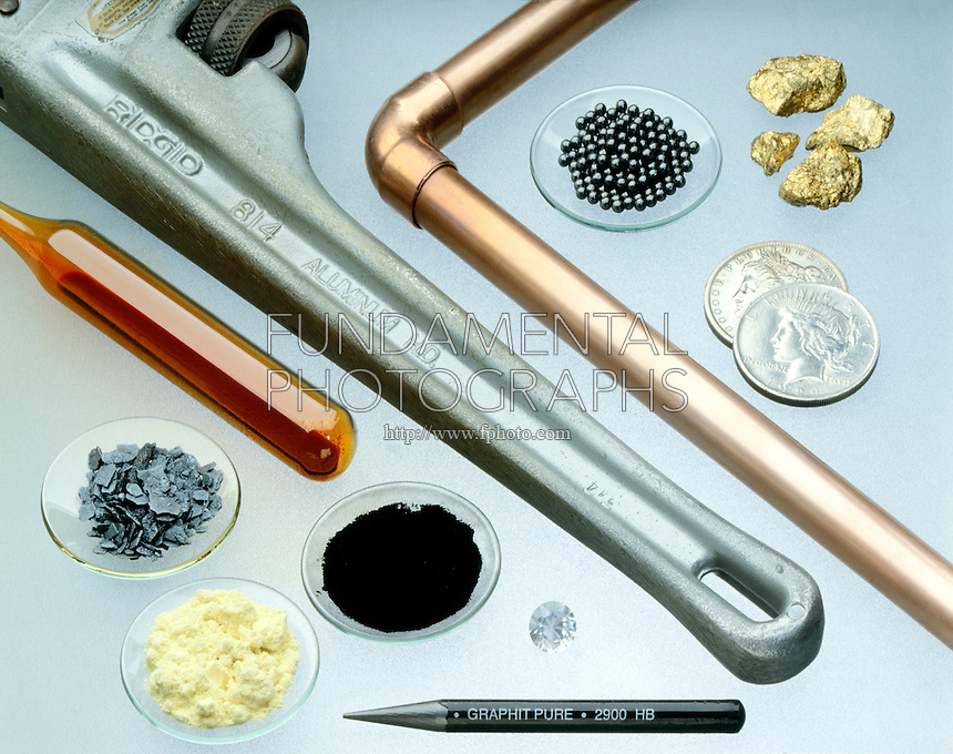 ELEMENTAL METALS AND NONMETALS<br />