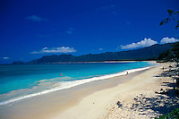 Waimanalo beach park, Windward island of Oahu