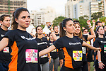 Runners compete at the Bloomberg Square Mile Relay race at Parque do Povo on 18 October 2017 in São Paulo, Brazil. Photo by Leonardo Benassatto / Power Sport Images