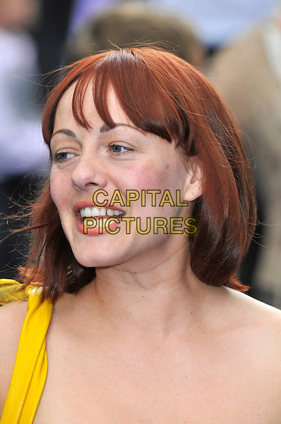 "SARAH CAWOOD.UK Premiere of ""Wall-E"" at the Empire, Leicester Square, London, England. .July 13th, 2008.portrait headshot sara.CAP/PL.©Phil Loftus/Capital Pictures."