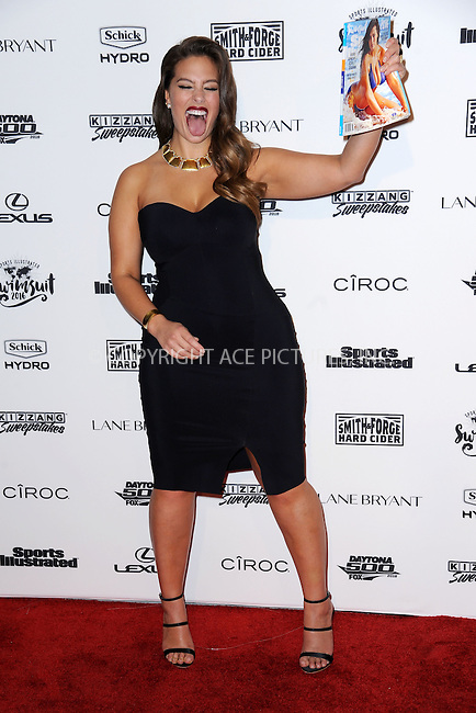 WWW.ACEPIXS.COM<br /> February 16, 2016 New York City<br /> <br /> Ashley Graham attending the 2016 Sports Illustrated Swimsuit Launch Celebration at Brookfield Place on February 16, 2016 in New York City.<br /> <br /> Credit: Kristin Callahan/ACE Pictures<br /> Tel: (646) 769 0430<br /> e-mail: info@acepixs.com<br /> web: http://www.acepixs.com