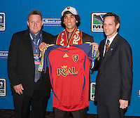 prior to the start of the MLS SuperDraft at the Pennsylvania Convention Center, Philadelphia, PA, on January 20, 2006.