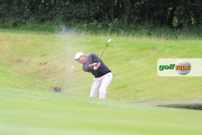 S.S.P Chowrasia (IND) plays his 2nd shot on the 9th hole during Day 1 Thursday of The Irish Open presented by Discover Ireland at Killarney Golf & Fishing Club on 28th July 2011 (Photo Jenny Matthews/www.golffile.ie)