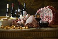 """Europe/France/Ile de France/75008/Paris: Restaurant """"Laurent"""" - Accord mets vins -Les Viandes"""