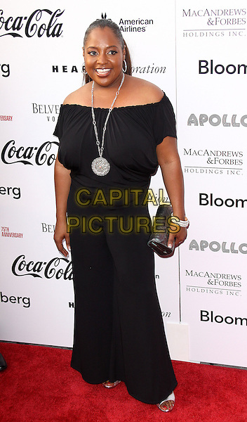 SHERRI SHEPHERD.Apollo Theater 75th Anniversary Gala Concert & Awards Ceremony, New York, NY, USA..June 8th, 2009.full length dress clutch bag black off the shoulder silver necklace.CAP/ADM/PZ.©Paul Zimmerman/AdMedia/Capital Pictures.