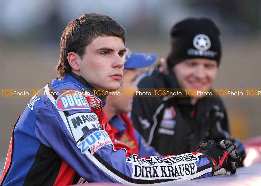 Christian Hefenbrock of Lakeside - Lakeside Hammers vs Oxford Cheetahs at The Arena Essex Raceway, Thurrock - 27/04/07 - MANDATORY CREDIT: Rob Newell/TGSPHOTO