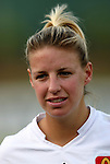 19 July 2003: Aly Wagner. The Carolina Courage defeated the San Diego Spirit 1-0 at SAS Stadium in Cary, NC in a regular season WUSA game.