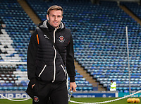 Blackpool's Nicholas Wilmer Anderton arriving at the stadium <br /> <br /> Photographer Andrew Kearns/CameraSport<br /> <br /> The EFL Sky Bet League One - Portsmouth v Blackpool - Saturday 12th January 2019 - Fratton Park - Portsmouth<br /> <br /> World Copyright &copy; 2019 CameraSport. All rights reserved. 43 Linden Ave. Countesthorpe. Leicester. England. LE8 5PG - Tel: +44 (0) 116 277 4147 - admin@camerasport.com - www.camerasport.com