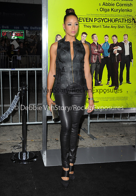 Dania Ramirez at The CBS Films L.A. Premiere of Seven Psychopaths Premiere held at The Bruin Theatre in Westwood, California on October 01,2012                                                                               © 2012 Hollywood Press Agency