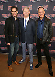Andy Blankenbuehler, Richard Oberacker and Robert Taylor attend the 'Bandstand' Broadway cast photo call at the Rainbow Room on March 7, 2017 in New York City.