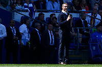 Reading manager Paul Clement during the Sky Bet Championship match between Cardiff City and Reading at The Cardiff City Stadium, Wales, UK. Sunday 06 May 2018