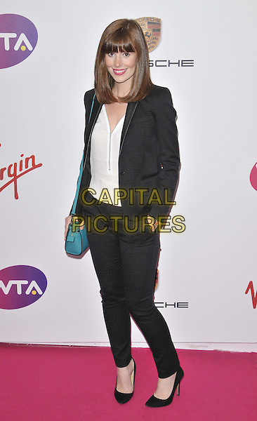 LONDON, ENGLAND - JUNE 19: Amy Nuttall attends the WTA Pre-Wimbledon Party, Kensington Roof Gardens, Kensington High St., on Thursday June 19, 2014 in London, England, UK.<br /> CAP/CAN<br /> &copy;Can Nguyen/Capital Pictures