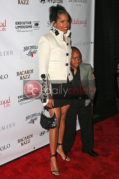 Regina King and family