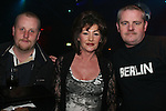 Kevin Cunningham, Lynn Archer and Colin Dowling at the Man in the Mirror, Michael Jackson Night in Fusion...Photo NEWSFILE/Jenny Matthews.(Photo credit should read Jenny Matthews/NEWSFILE)....This Picture has been sent you under the condtions enclosed by:.Newsfile Ltd..The Studio,.Millmount Abbey,.Drogheda,.Co Meath..Ireland..Tel: +353(0)41-9871240.Fax: +353(0)41-9871260.GSM: +353(0)86-2500958.email: pictures@newsfile.ie.www.newsfile.ie.FTP: 193.120.102.198.