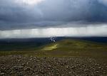 le 19 Aout 2013, Parc national de du Vatnajokull en Islande à Skatafell.      the 19th August 2013, The Vatnajokull National Park at Skatafell in iceland.
