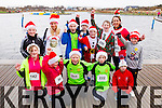 Blennerville School training group, who took part in the Santa 5k run on Sunday last in aid of the Ronald McDonald House, Crumlin.