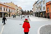 Im Zentrum der Stadt: Architektonisch erinnert der historische Stadtkern von Uschhorod an das alte Österreich-Ungarn.