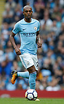 Fernandinho of Manchester City during the premier league match at the Etihad Stadium, Manchester. Picture date 22nd September 2017. Picture credit should read: Simon Bellis/Sportimage