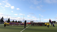 during the International Hockey match between the  Blacksticks Men and Japan, TET Multisport Centre, Stratford, New Zealand. Tuesday 15  October 2019. Photo: Simon Watts/www.bwmedia.co.nz/HockeyNZ
