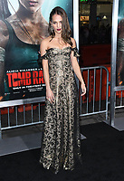 12 March 2018 - Hollywood, California - Alicia Vikander. &quot;Tomb Raider&quot; Los Angeles Premiere held at TCL Chinese Theatre. <br /> CAP/ADM/BT<br /> &copy;BT/ADM/Capital Pictures