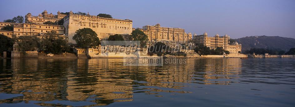 Asie/Inde/Rajashtan/Udaipur : Le City Palace palais du roi d'Udaipur