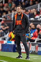 27th November 2019; Mestalla, Valencia, Spain; UEFA Champions League Footballl,Valencia versus Chelsea; Chelsea Manager Frank Lampard follows the game closely - Editorial Use
