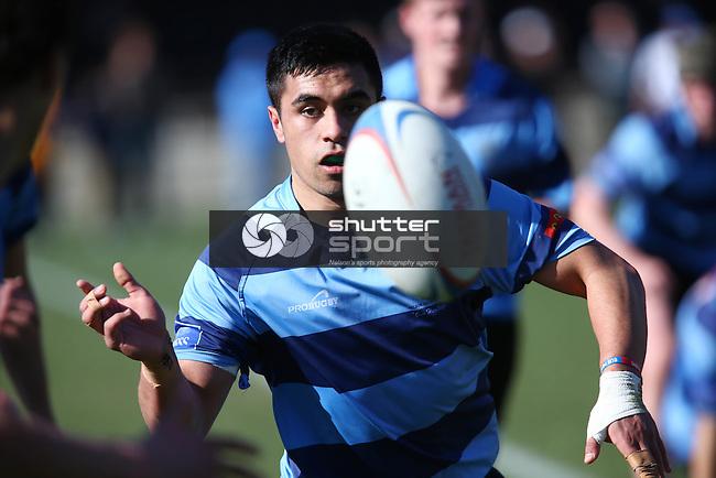 Press Cup: Semi-Final, Nelson College v Marlborough College Trafalgar Park Saturday 16th August 2014,Evan Barnes / www.shuttersport.co.nz