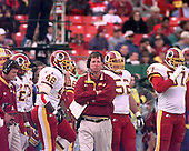 Washington Redskins head coach Norv Turner watches the game action against the Arizona Cardinals at Jack Kent Cooke Stadium in Raljon, Maryland on November 22, 1998.  The Cardinals won the game 45 - 42.<br /> Credit: Arnie Sachs / CNP