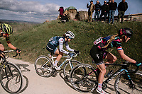 Hannah Barnes (GBR/Canyon-SRAM) & Ruth Winder (USA/Trek-Segafredo)<br /> <br /> 5th Strade Bianche WE (1.WWT)<br /> One day race from Siena to Siena (136km)<br /> <br /> ©JojoHarper for kramon