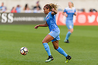 Bridgeview, IL - Sunday September 03, 2017: Casey Short during a regular season National Women's Soccer League (NWSL) match between the Chicago Red Stars and the North Carolina Courage at Toyota Park. The Red Stars won 2-1.