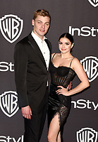 LOS ANGELES, CALIFORNIA - JANUARY 06: Levi Meaden and Ariel Winter attend the Warner InStyle Golden Globes After Party at the Beverly Hilton Hotel on January 06, 2019 in Beverly Hills, California. <br /> CAP/MPI/IS<br /> &copy;IS/MPI/Capital Pictures