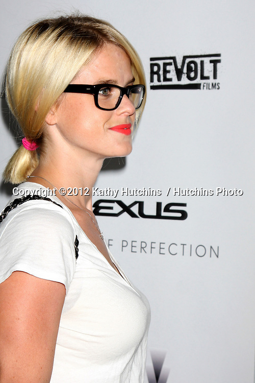 """LOS ANGELES - AUG 22:  Alice Eve arrives at the """"Lawless"""" LA Premiere at ArcLight Theaters on August 22, 2012 in Los Angeles, CA"""
