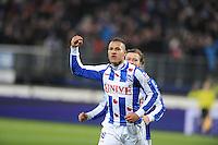 VOETBAL: HEERENVEEN: Abe Lenstra Stadion, 07-02-2015, Eredivisie, sc Heerenveen - PEC Zwolle, Eindstand: 4-0, Luciano Slagveer (#17), ©foto Martin de Jong
