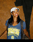 Renee Elise Goldsberry stars in Broadway's sold out show - Hamilton - An American Musical on August 21, 2015 at the Richard Rodgers Theatre, New York City.  (Photos by Sue Coflin/Max Photos)