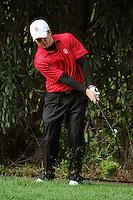 STANFORD, CA - APRIL 13:  Graham Brockington of the Stanford Cardinal during the U.S. Intercollegiate on April 13, 2010 at the Stanford Golf Course in Stanford, California.