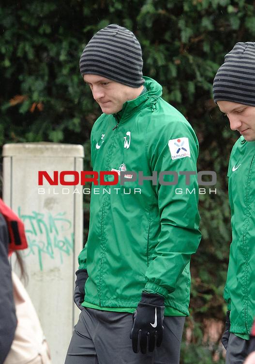 06.01.2014, Platz 11, Bremen, GER, 1.FBL, Laktattest Werder Bremen, im Bild Felix Kroos (Bremen #18)<br /> <br /> Foto &copy; nordphoto / Frisch