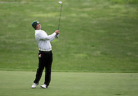 21 May, 2010:   Loyola College's Jay Mulieri chips his ball on the green on hole 11 during the first round of the NCAA West Regionals at Gold Mountain Golf Course in Bremerton, Washington.