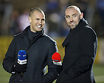 TV pundits Kenny Miller and Kris Boyd