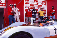 Vintage race podium, 12 Hours or Sebring, Sebring International Raceway, Sebring, FL, March 19, 1983.  (Photo by Brian Cleary/bcpix.com)