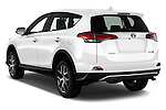 Car pictures of rear three quarter view of 2016 Toyota RAV4 Style 5 Door SUV Angular Rear
