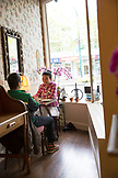 CANADA, Vancouver, British Columbia, Adonia Teahouse on West 41st Street in Kerrisdale