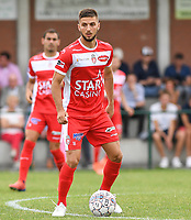 20190717 - LICHTERVELDE , BELGIUM : Mouscron's Deni Hocko pictured during a friendly game between KSV Roeselare and Royal Excelsior Mouscron Moeskroen during the preparations for the 2019-2020 season , Wednesday 17 July 2019 ,  PHOTO DAVID CATRY | SPORTPIX.BE