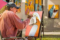 Large crowd attends Naples Art Association's annual Art in the Park at The von Liebig Art Center, Naples, Florida, USA, Dec. 1, 2012. Photo by Debi Pittman Wilkey Art in the Park, Dec. 1, 2012. Photo by Debi Pittman Wilkey