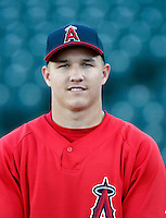 Mike Trout ---  AZL Angels - 2009 Arizona League.Photo by:  Bill Mitchell/Four Seam Images.