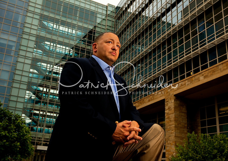 09/17/09: American Society for Training and Development magazine  photo shoot with Lowe's  CEO Robert Niblockand VP of Learning Cedric Coco at Lowe's Corporate Headquarters in Moresville, North Carolina.
