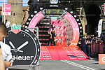 Mark Renshaw (AUS) Team Dimension Data on the start ramp of Stage 1 of the 2019 Giro d'Italia, an individual time trial running 8km from Bologna to the Sanctuary of San Luca, Bologna, Italy. 11th May 2019.<br /> Picture: Eoin Clarke | Cyclefile<br /> <br /> All photos usage must carry mandatory copyright credit (© Cyclefile | Eoin Clarke)