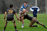 College Rugby - St. Patrick's College, Silverstream v Wellington College at St. Patrick's College, Silverstream, Upper Hutt, New Zealand on Wednesday 6 June 2018.<br /> Photo by Masanori Udagawa. <br /> www.photowellington.photoshelter.com